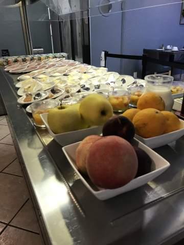 Notre restaurant vous propose un petit déjeuner complet sous la forme d'un buffet